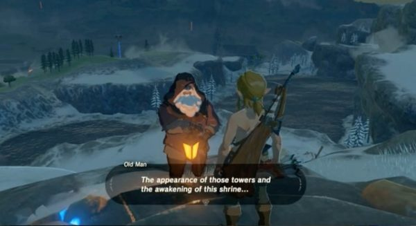 Zelda Breath of the Wild: Who Is the Old Man?