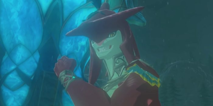 hyrule warriors sidon