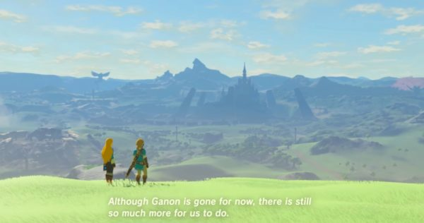 zelda, breath of the wild, story, ending