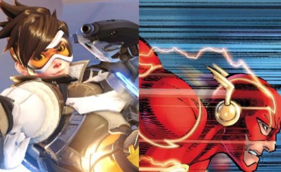 Tracer Would Be... The Flash