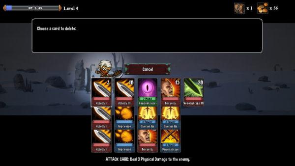 Monster Slayers Delete Card