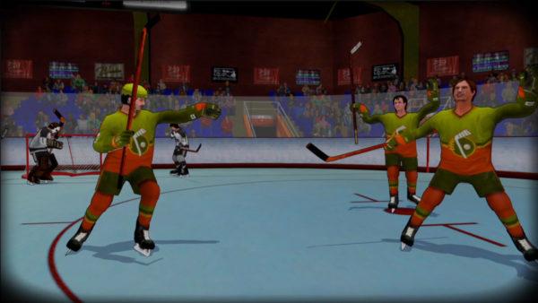 Old Time Hockey Goal Celebration