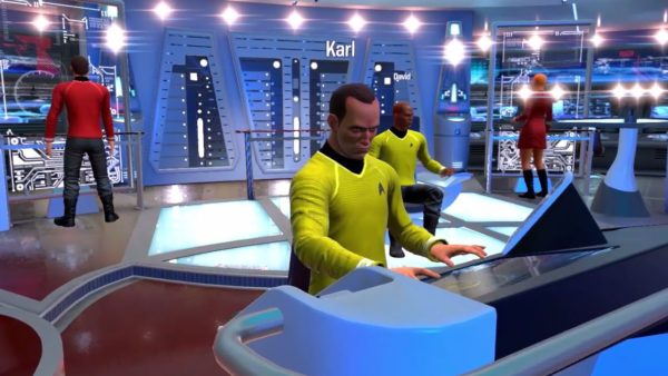 Star Trek, Star Trek bridge crew, VR, may 2017