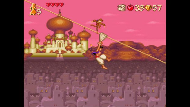 7. Disney's Aladdin (SNES)