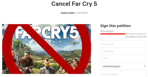 Cancel Far Cry 5