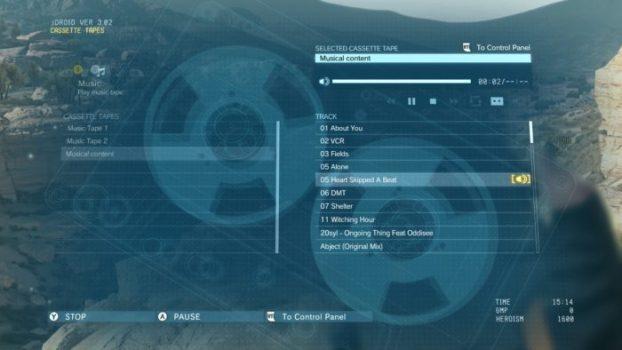 Thumb-Precise Tracking - Metal Gear Solid V