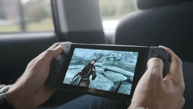 nintendo 2018 third party support skyrim switch