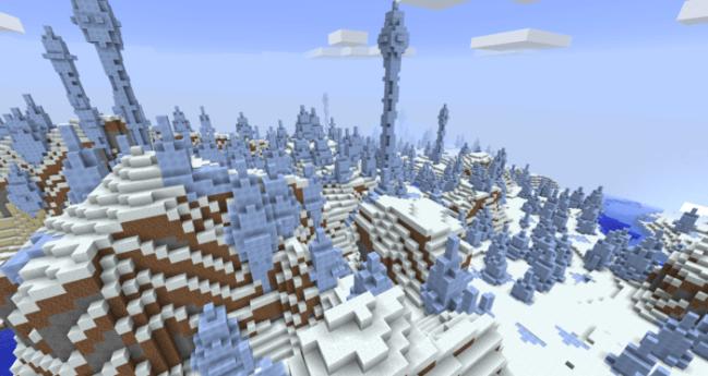 Frozen Ice Spikes