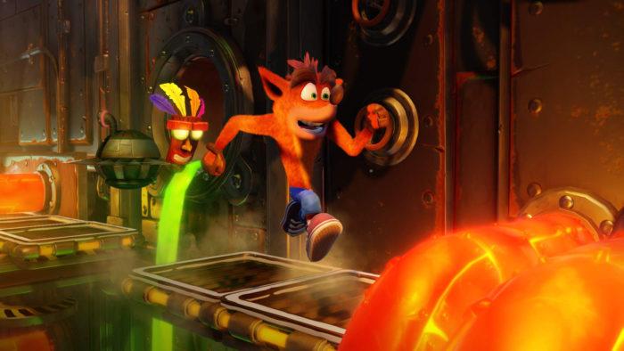 Crash Bandicoot, ps1 games, classics, ps4