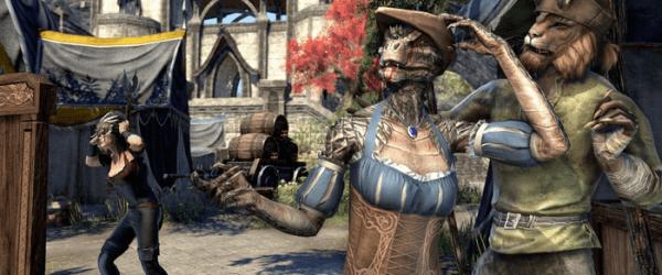 Elder Scrolls Online Gameplay