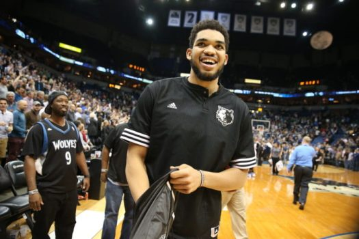 Karl-Anthony Towns, Timberwolves - 91