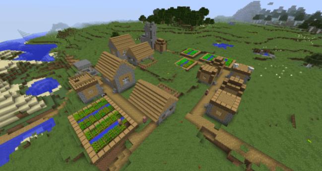 Plains Village Spawn
