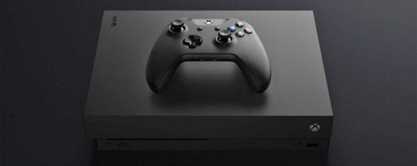microsoft, Xbox One X
