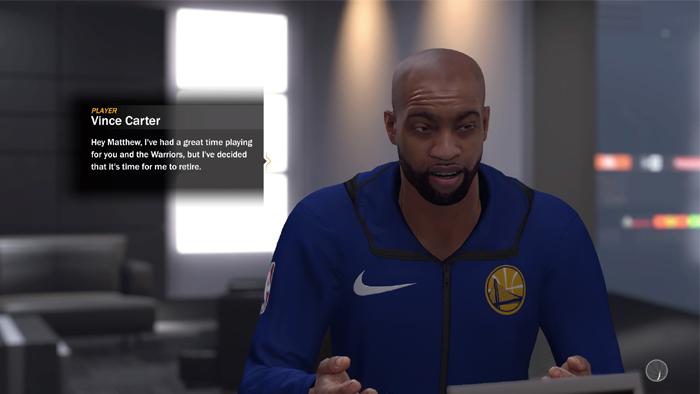 NBA 2K18 MyGM