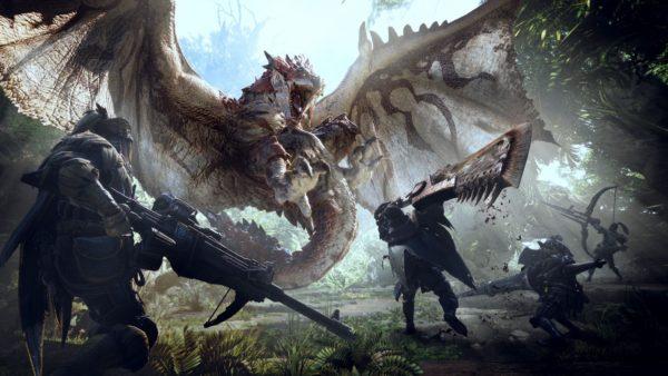 monster hunter world, games