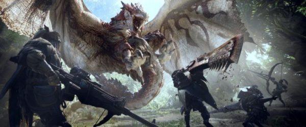 monster hunter world, games, jrpgs, 2018