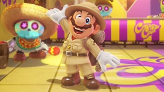 3. Super Mario Odyssey