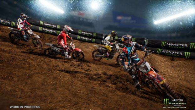 Monster Energy Supercross (PS4/Xbox One/Switch/PC)