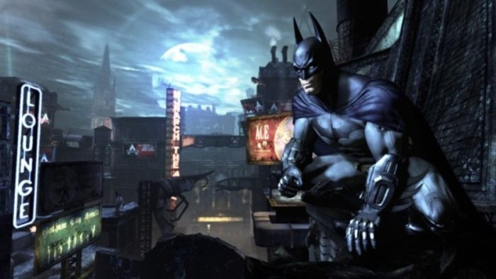 batman return to arkham collection city