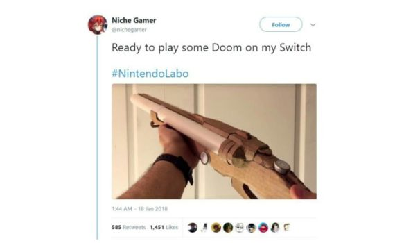 The next best thing for DOOM Switch