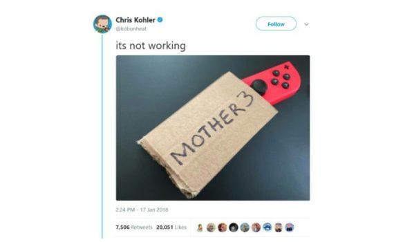 Mother 3 Confirmed?