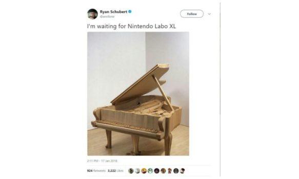 Nintendo Labo XL
