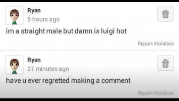 Luigi Regret