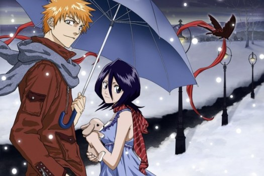 Ichigo and Rukia - Bleach