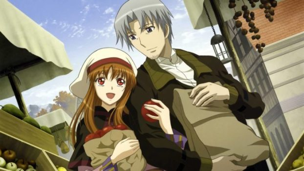 Holo and Lawrence - Spice and Wolf