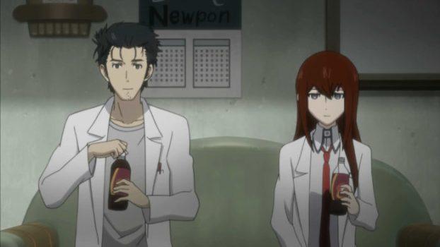 Kurisu and Okabe - Steins;Gate