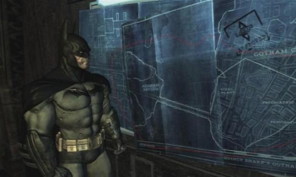 Batman: Arkham Asylum – Plans to Arkham City