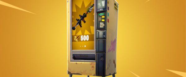 Fortnite, battle royale, vending machines