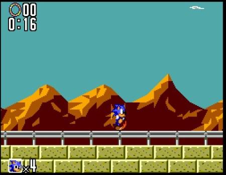 Sonic the Hedgehog 2 (Sega Master System)