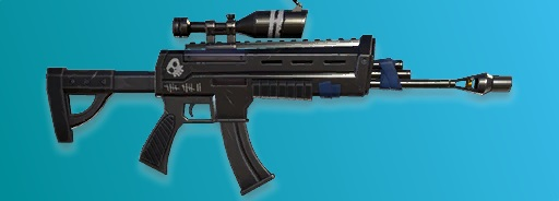 8. Assault Rifle With Scope