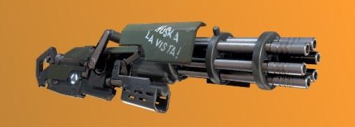 5. Minigun