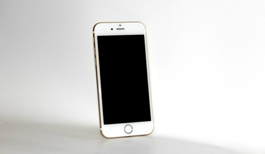 Mobile Phone, Iphone 6s, White Smartphone