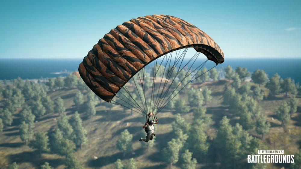 Pubg Parachute Wallpaper Latest Pubg Update Adds New Parachute Skin And The Aviator