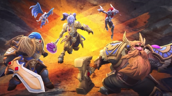 Heroes of the Storm, League of Legends