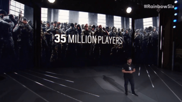 Rainbow Six Siege Surpasses 35 Million Players