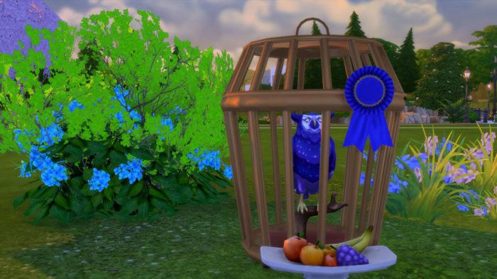 bird cage, sims 4, sims, mods