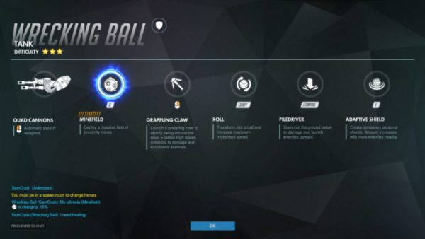 overwatch, wrecking ball