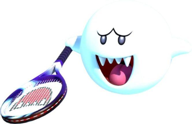 Mario Tennis Aces Boo
