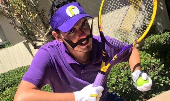 Waluigi Tennis Racket