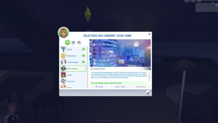 actor, actress, career, sims 4, mod, sims 4 mods of june 2018