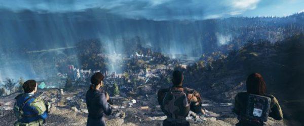 Fallout 76, wood, map size, fallout 4
