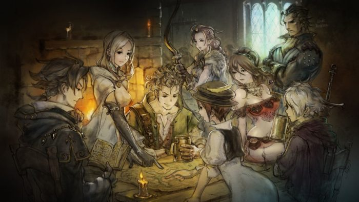 octopath traveler, game of the year, goty, 2018