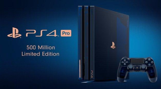 500 Million Edition PS4 Pro