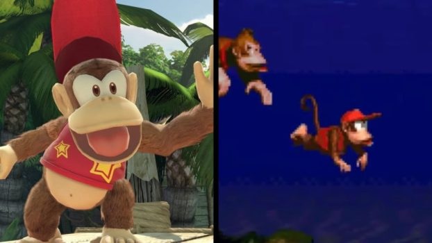 Diddy Kong - Donkey Kong Country (SNES, 1994)