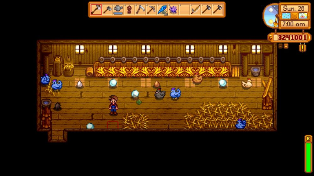 blue chicken, mods, stardew valley