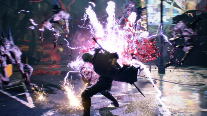 Devil May Cry 5, Xbox One, Demo